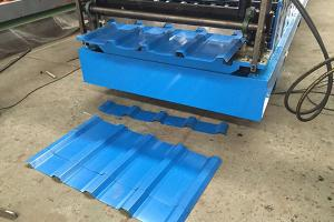 Combo Roll Forming Machine / Double Layer Máquina formadora de rollos